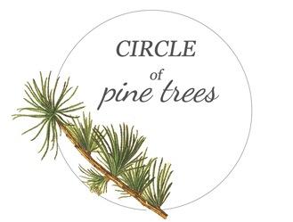 Circle of Pine Trees