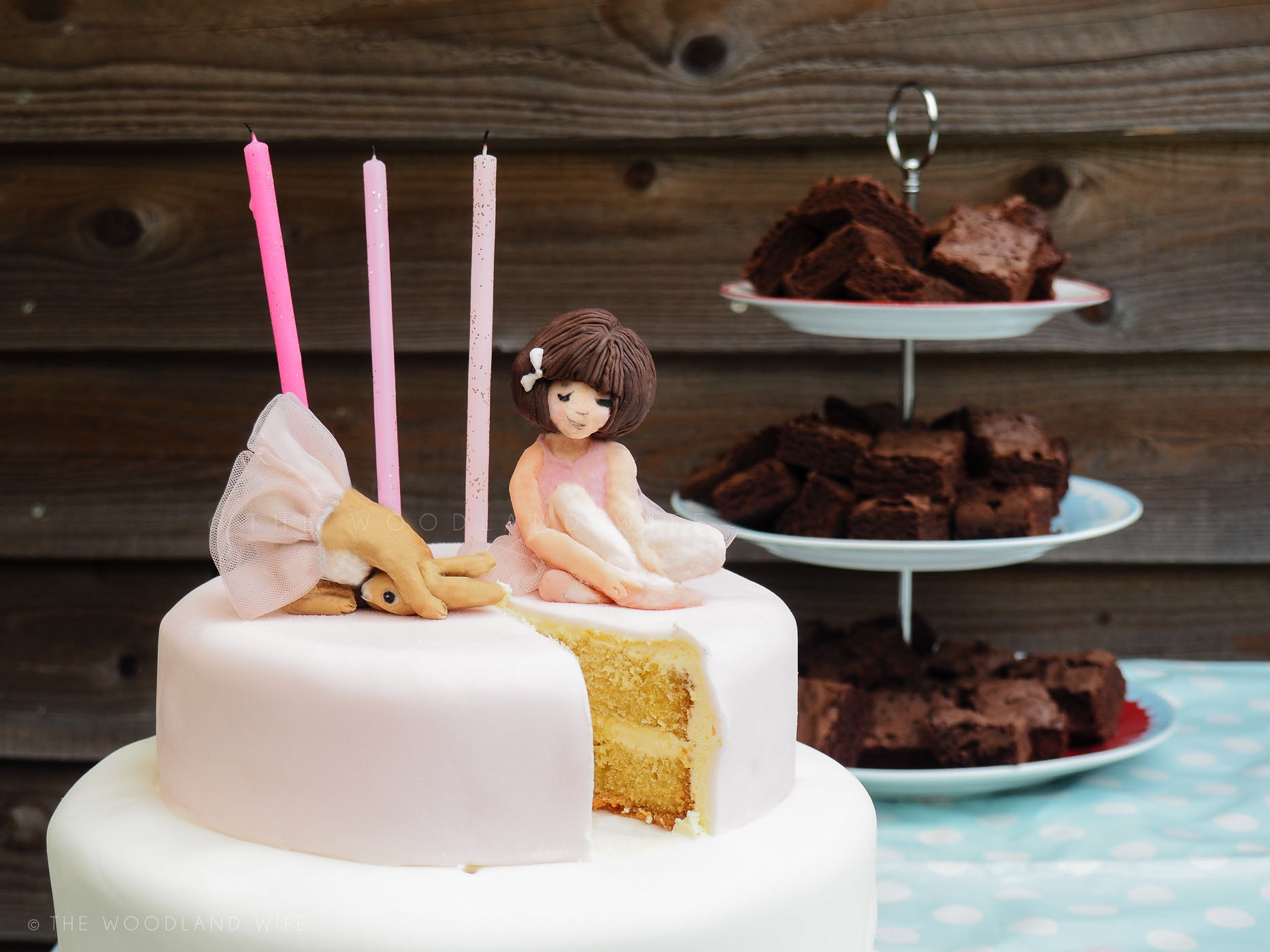 Belle And Boo Ballet Birthday Cake The Woodland Wife
