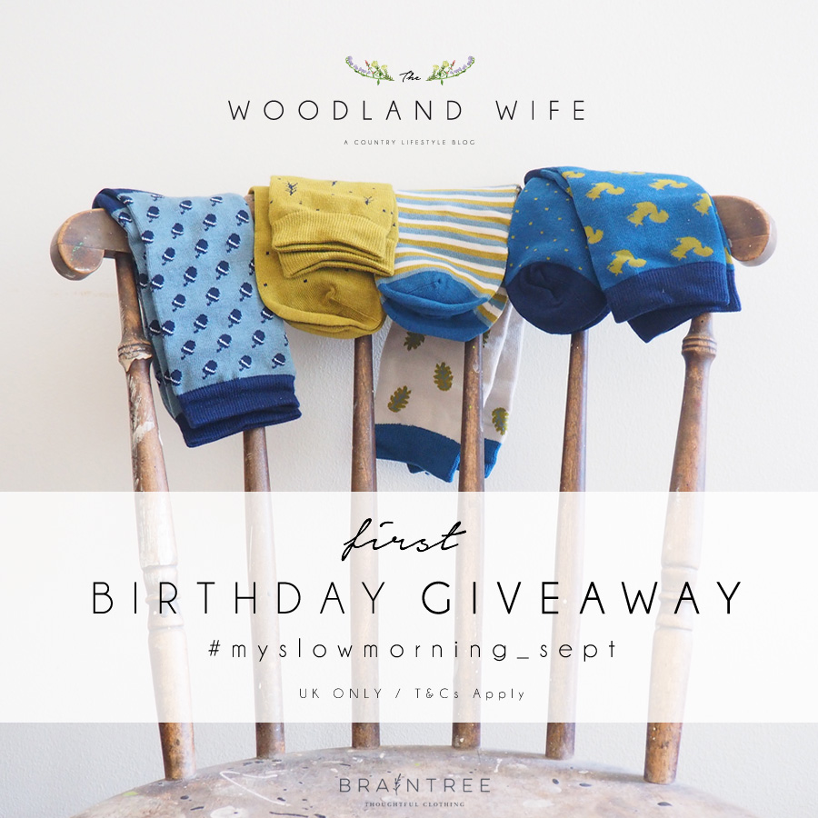 The Woodland Wife - Braintree Clothing Bamboo Socks Giveaway