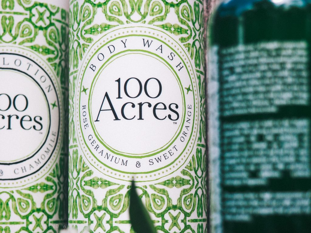 The Woodland Wife - Natural bath and body products from 100 Acres Apothecary
