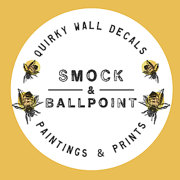 Smock and Ballpoint Wildlife Wall Decal, Fairy Wall Decal Logo