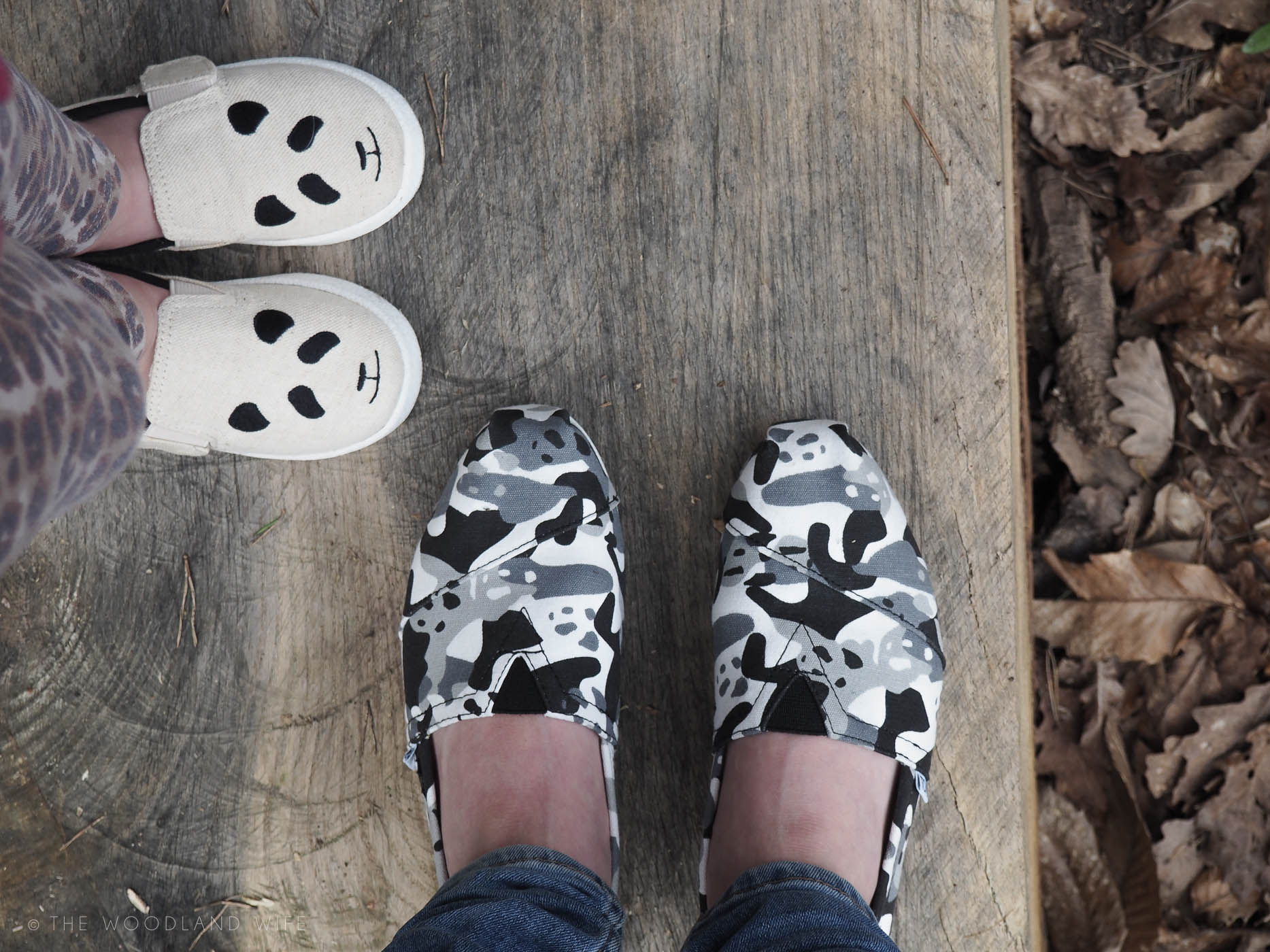 The Woodland Wife - TOMS Panda Collection with WildAid