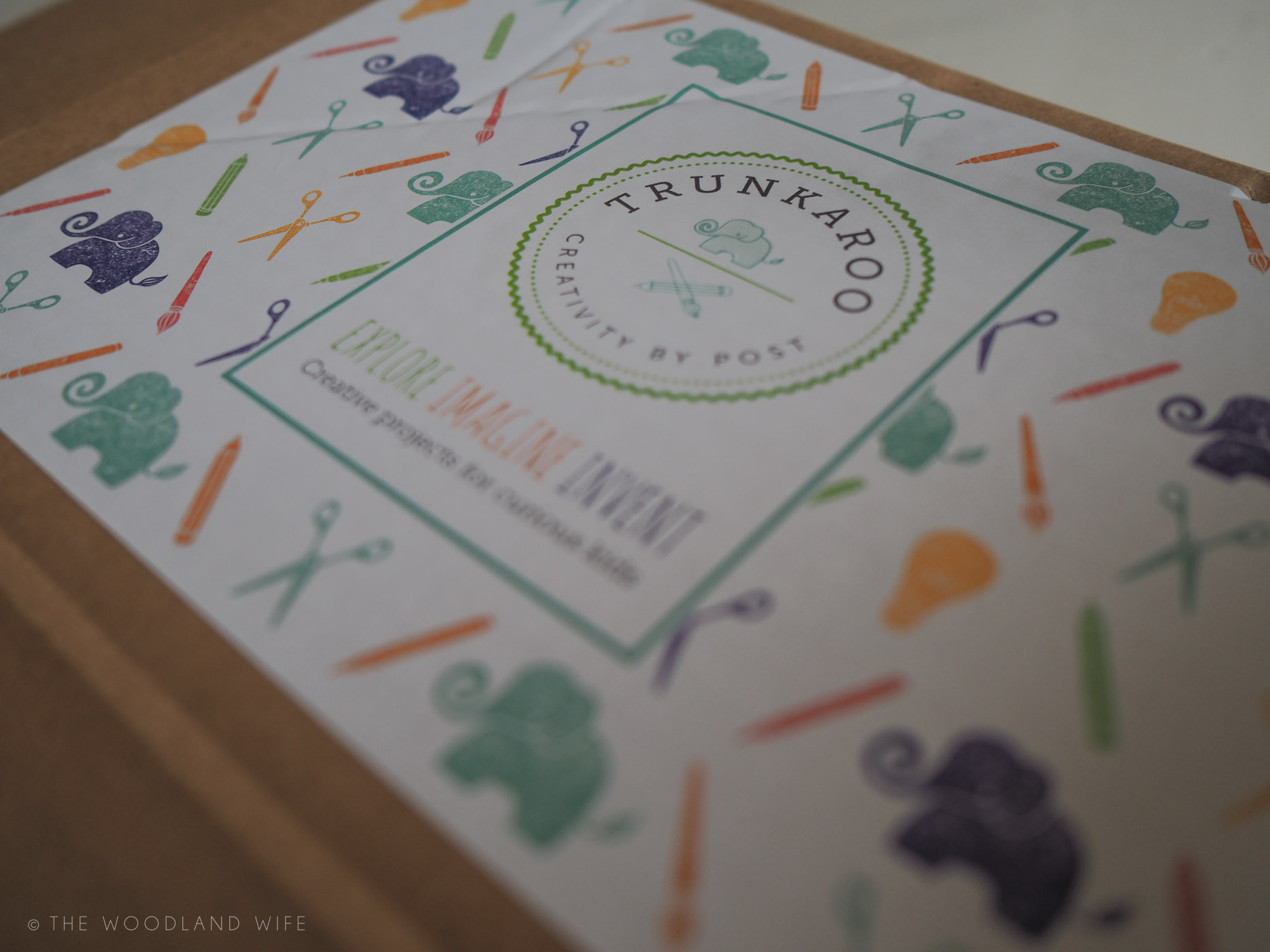 The Woodland Wife - Creative, hassle free Half Term activities at home - Trunkaroo Subscription Boxes