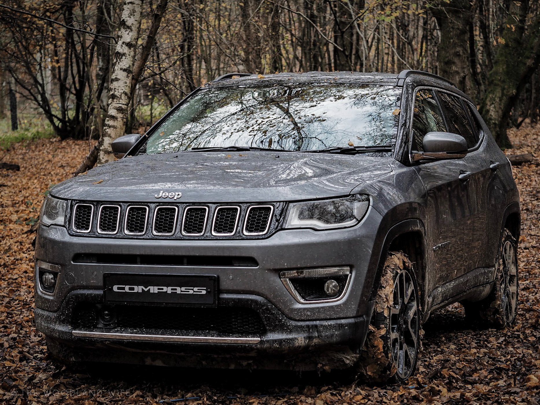 go anywhere do anything with the all new jeep compass 2018 recalculating tour the woodland wife. Black Bedroom Furniture Sets. Home Design Ideas