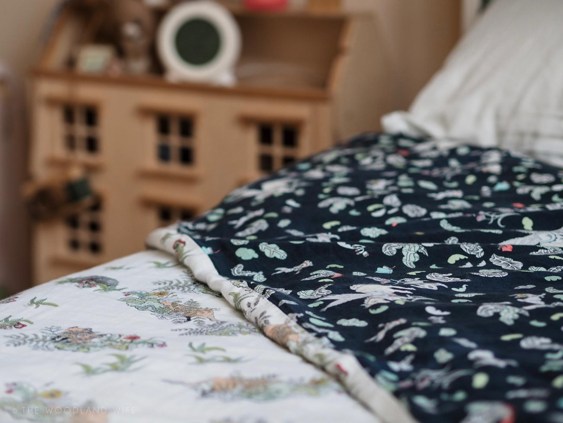 The Woodland Wife - Forivor - Ethical & Organic children's bedding - inspire magical sleep through nature and storytelling