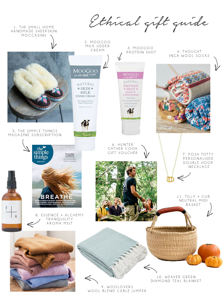 The Woodland Wife - Mothers Day Ethical Gift Guide 2018