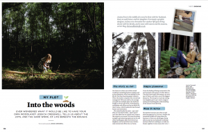 The Woodland Wife - The Simple Things - My Plot Feature - March 2018