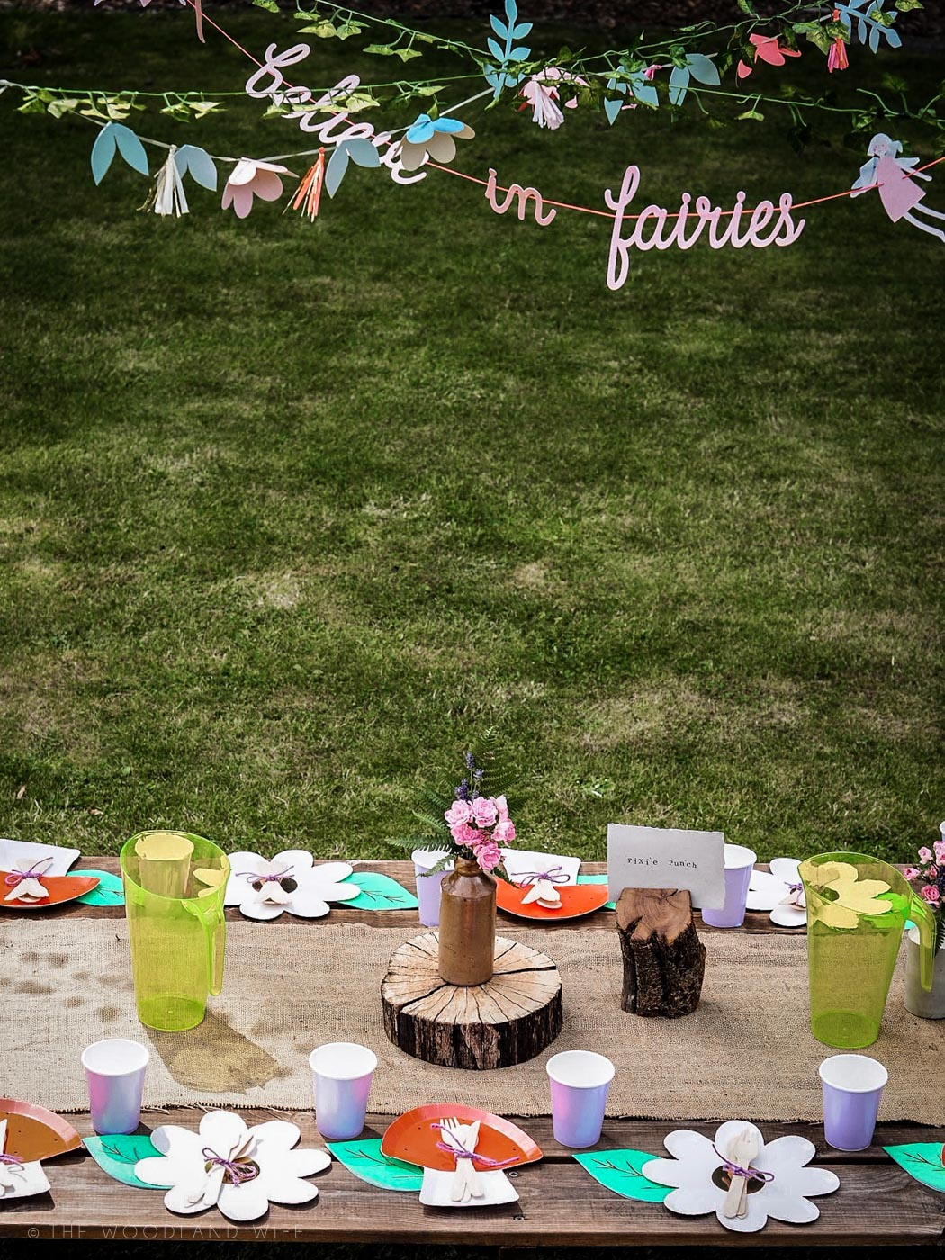 The Woodland Wife - Flower Fairy Party - Woodland Party - Party Pieces - Fairies