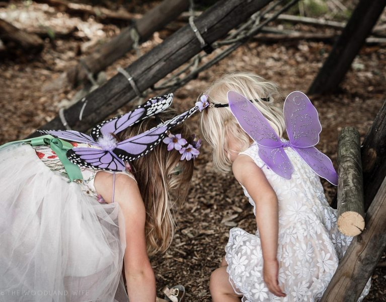 The Woodland Wife - Flower Fairy Party - Woodland Party - Fairy Wings - Fairies