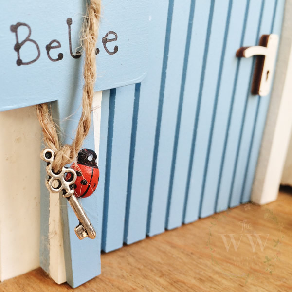 Lola's Little Palace Personalised Wooden Handmade Fairy Door