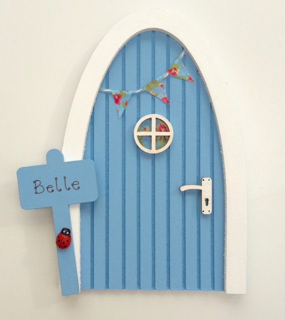 Periwinkle Blue Fairy Door