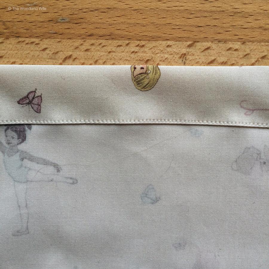 Belle and Boo Ballet Bag Drawstring Bag