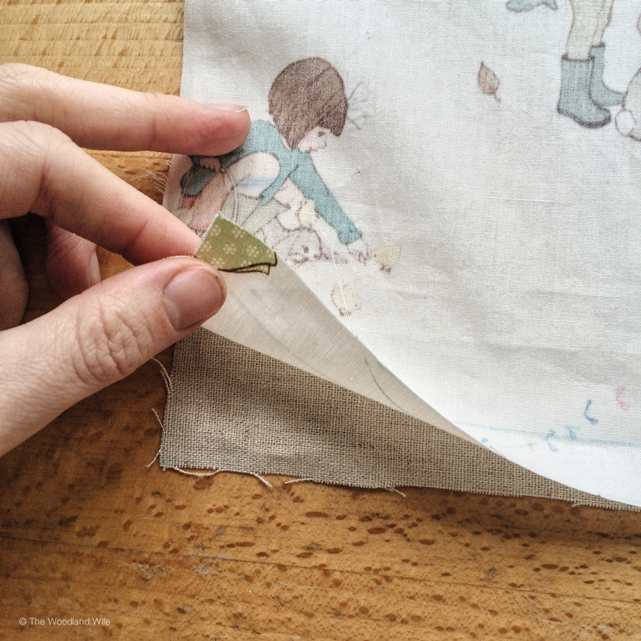 How to make a cushion cover using Belle and Boo Classic Fabric
