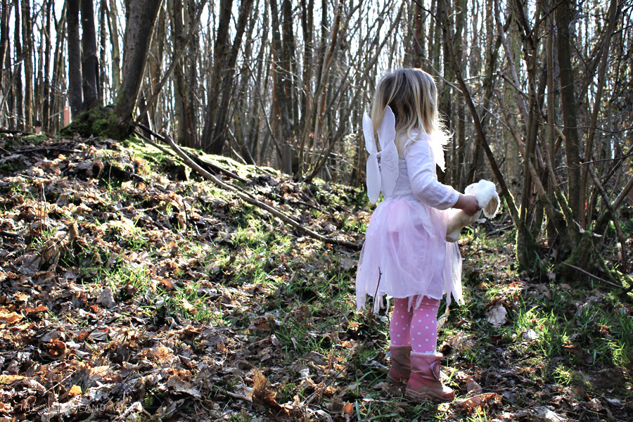 The Woodland Wife Fairy Hunt in the woods