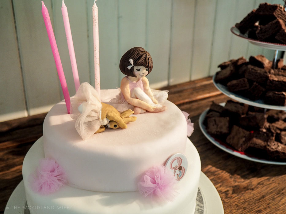 The Woodland Wife - Belle and Boo Ballet Birthday Cake