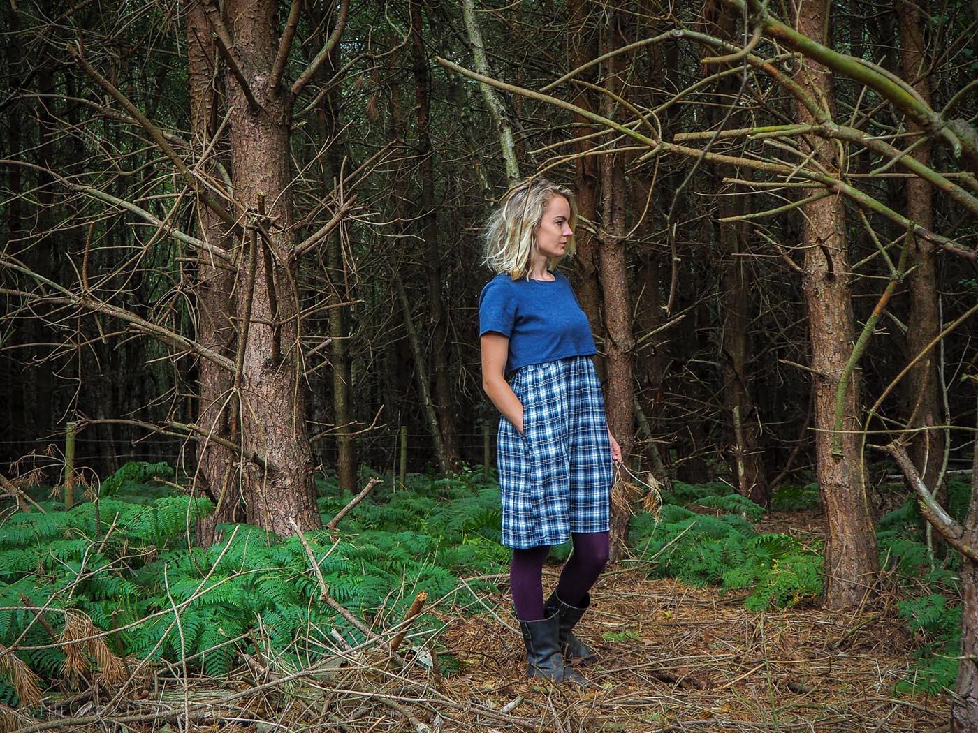 The Woodland Wife - Braintree Clothing, Inga Leesa Hemp Dress AW16
