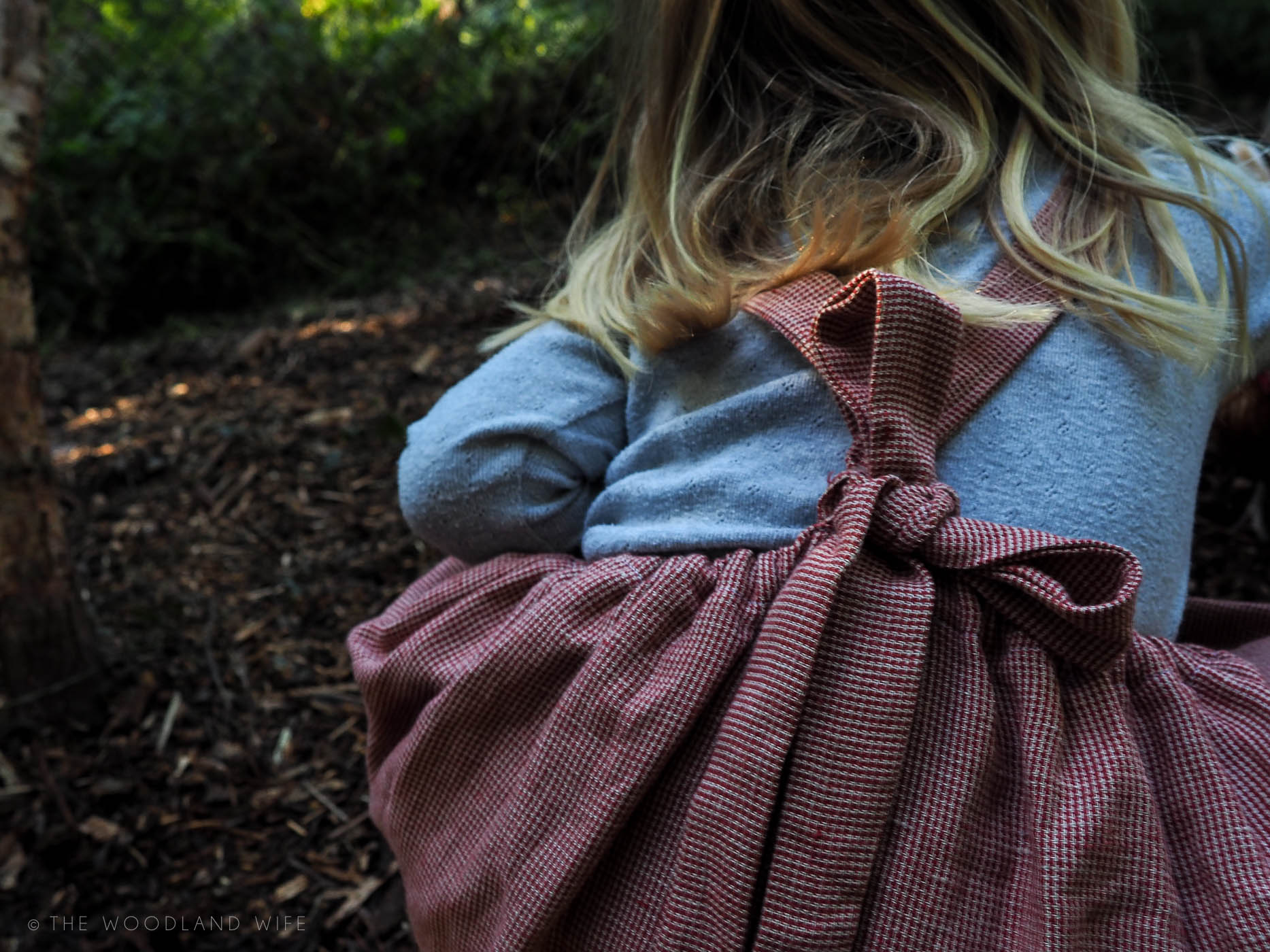 The Woodland Wife - Nellie Quats Conkers Pinafore Girls Dress