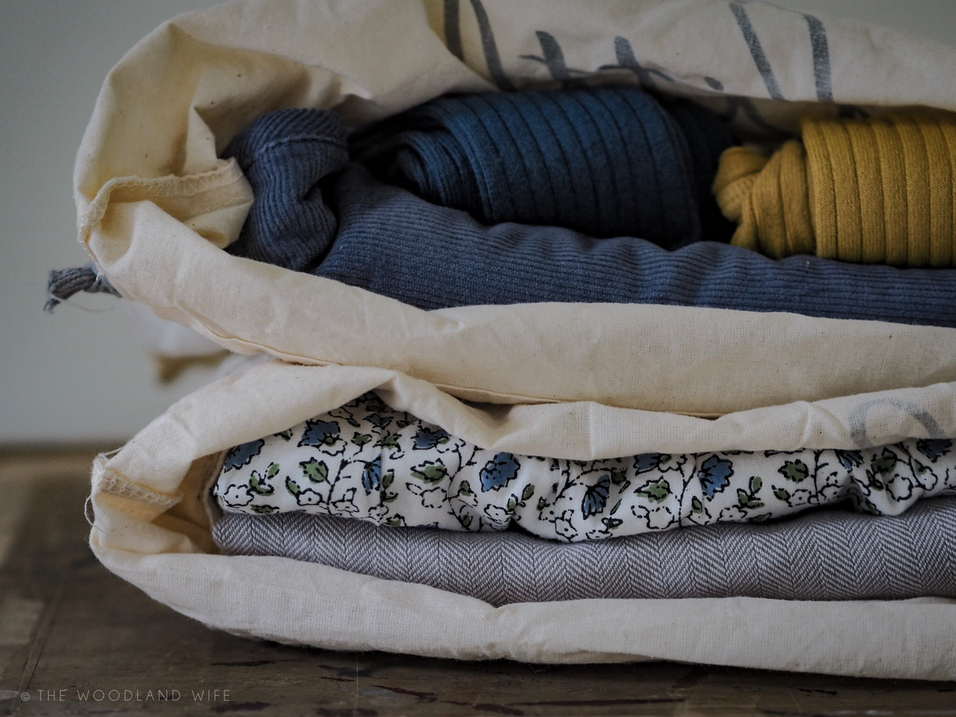 The Woodland Wife - Little Cotton Clothes AW17 - Reusable Packaging