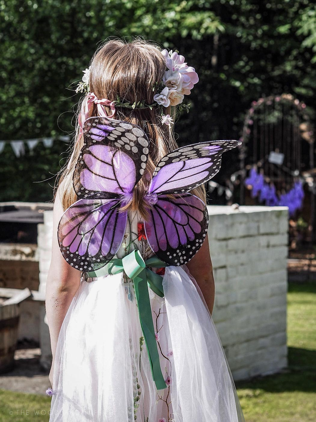 The Woodland Wife - Flower Fairy Party - Woodland Party - Lilly and Bo Party Dress - Fairies